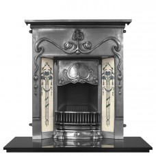 Valentine Cast Iron Fireplace